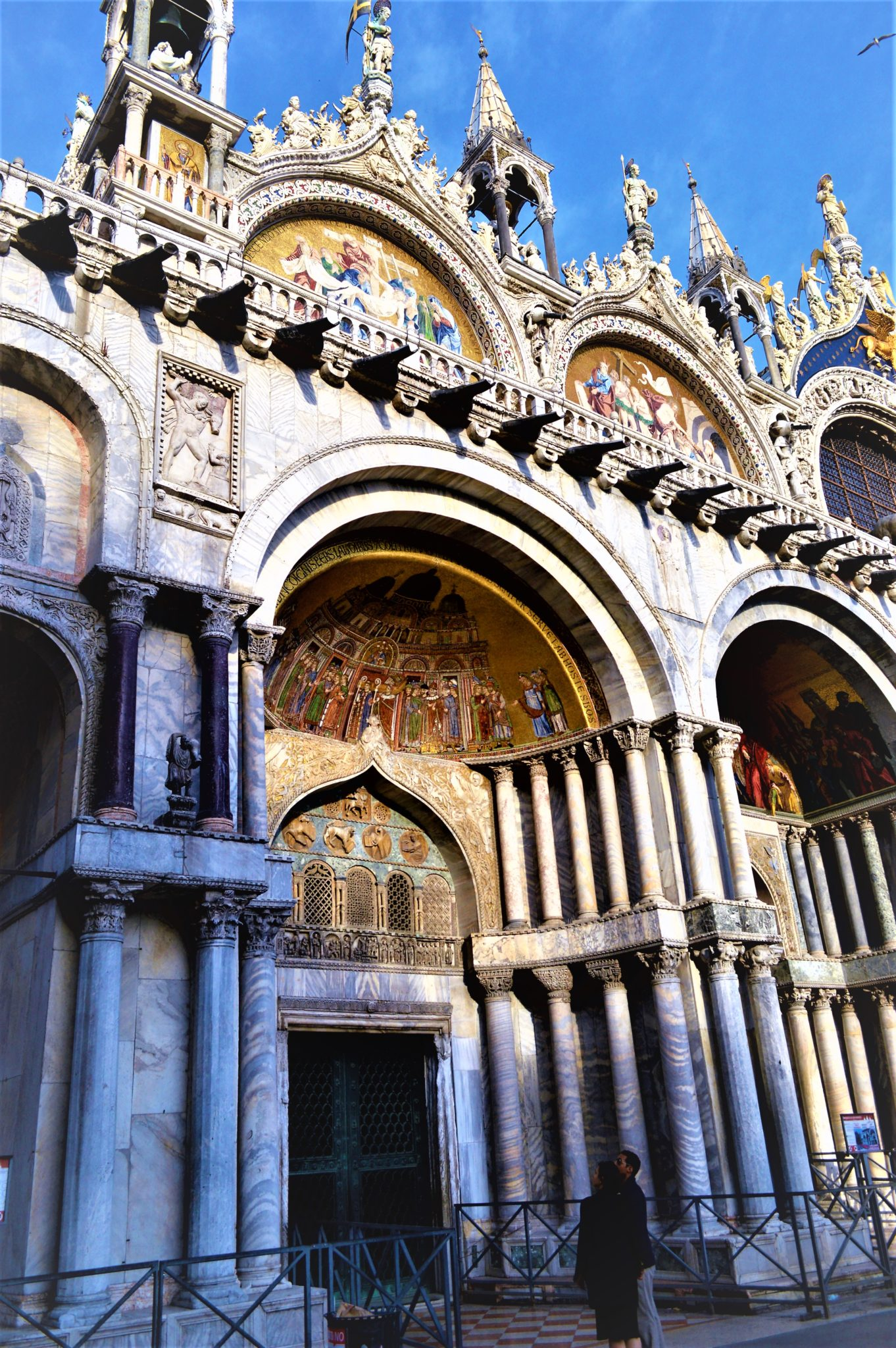 Exterior of the St. Mark's Cathedral, Venice, Italy
