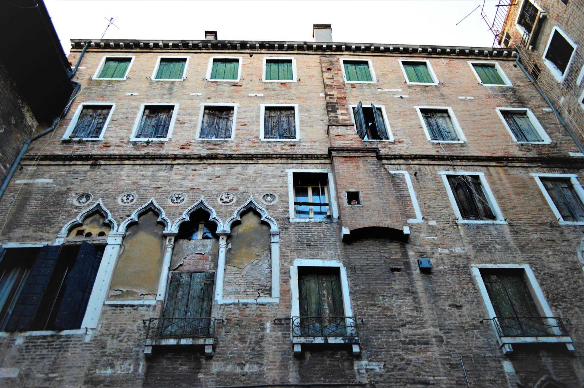 Marco Polo's house, Venice, Italy