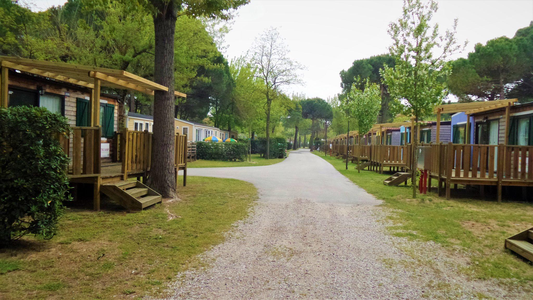 Suncamp holiday park, Punta Sabbioni, Venice, Italy